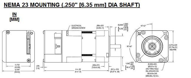 Nema 23 Motor Diagram Nema Free Engine Image For User